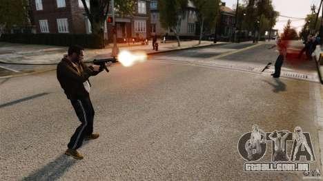 O dano real de braços para GTA 4 quinto tela
