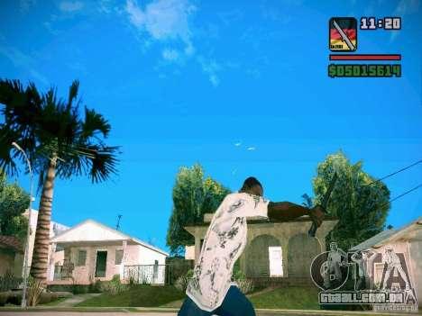 New Weapon Pack para GTA San Andreas por diante tela