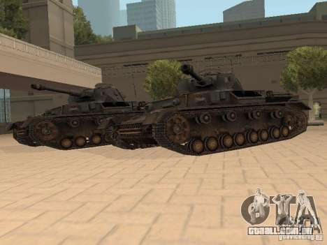 Pzkpfw IV para GTA San Andreas