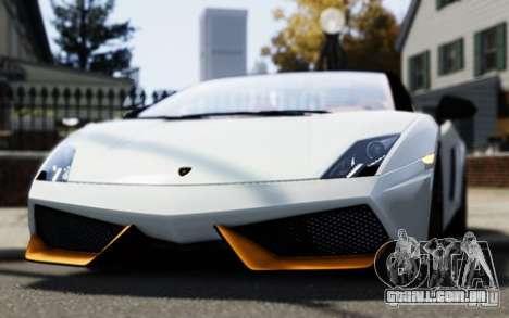 Lamborghini Gallardo LP570-4 Spyder para GTA 4 vista direita