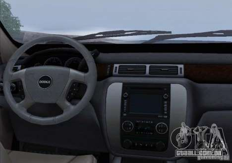 Dodge Ram Ambulance para GTA San Andreas interior
