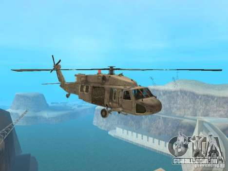 O UH-60 do COD MW3 para GTA San Andreas