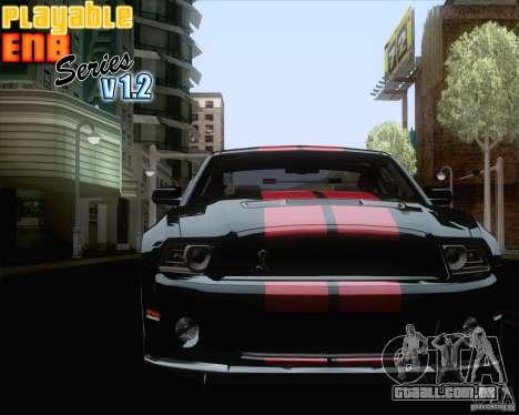 Playable ENB Series v1.2 para GTA San Andreas