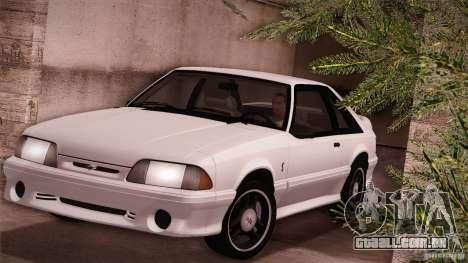 Ford Mustang SVT Cobra 1993 para GTA San Andreas