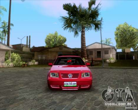 Volkswagen Jetta 2005 para vista lateral GTA San Andreas
