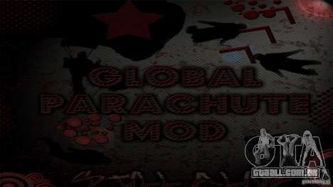 Global Parachute Mod para GTA San Andreas