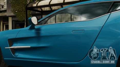 Aston Martin One-77 para GTA 4 vista de volta