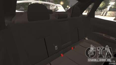Subaru Impreza WRX STi 2011 G4S Estonia para GTA 4 vista inferior