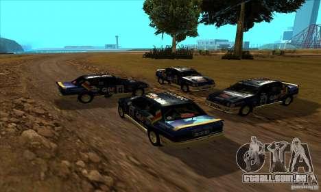 Ford Sierra RS500 Cosworth RallySport para GTA San Andreas vista traseira