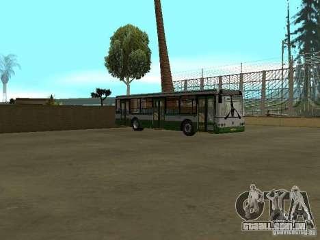 4-th ônibus v 1.0 para GTA San Andreas