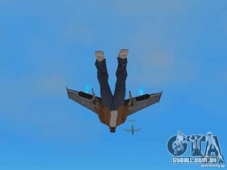 JetWings Black Ops 2 para GTA San Andreas terceira tela