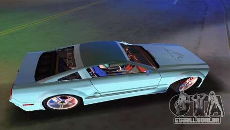 Ford Mustang 2005 GT para GTA Vice City vista traseira