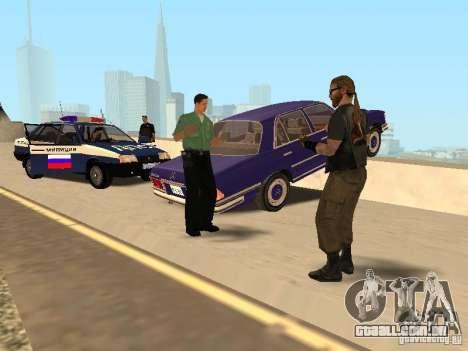 Um acidente na ponte Garver para GTA San Andreas