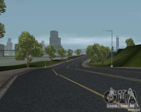 Novas texturas de estrada para GTA UNITED para GTA San Andreas por diante tela