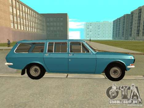 Volga GAZ 24-12 para GTA San Andreas esquerda vista