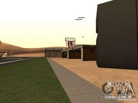 O novo aeroporto para GTA San Andreas terceira tela