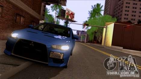 SA Beautiful Realistic Graphics 1.3 para GTA San Andreas quinto tela