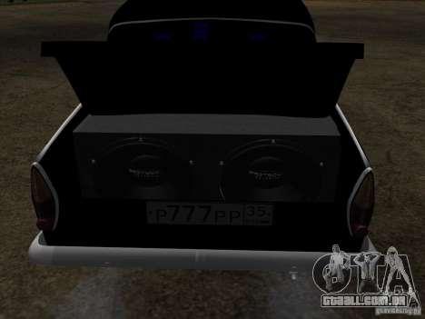 Estilo Extra Moskvitch 408 para vista lateral GTA San Andreas