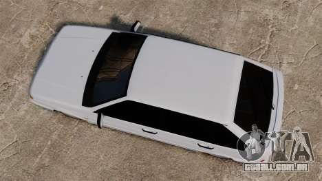 Vaz-2114 para GTA 4 vista direita