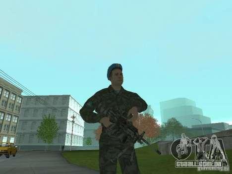 Spetsnaz VDV para GTA San Andreas por diante tela