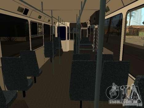 MTrZ 5279 para GTA San Andreas vista interior