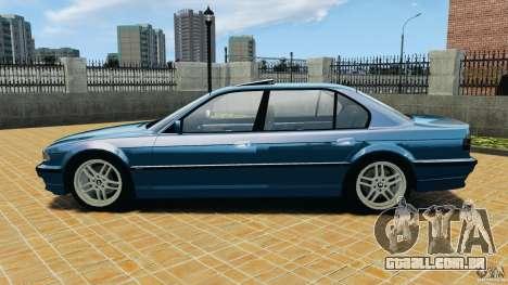 BMW 750iL E38 1998 para GTA 4 esquerda vista