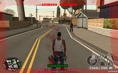 Cleo HUD by Cameron Rosewood V1.0 para GTA San Andreas terceira tela