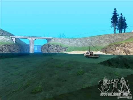 ENBSeries v1.1 para GTA San Andreas sexta tela