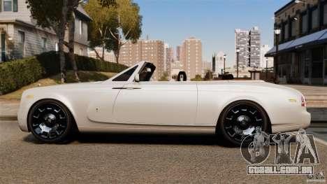 Rolls-Royce Phantom Convertible 2012 para GTA 4 esquerda vista