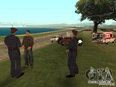 Um acidente horrível para GTA San Andreas