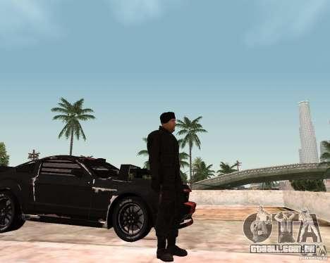 Jason Statham para GTA San Andreas por diante tela