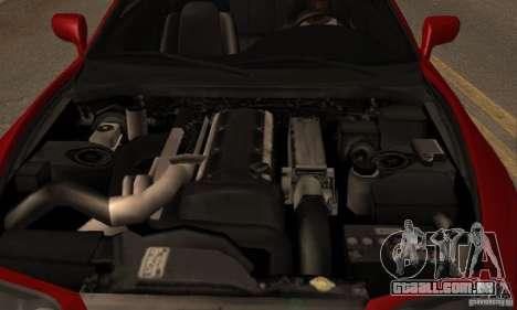 Toyota Supra Targa para GTA San Andreas vista traseira