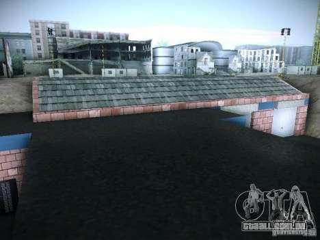 Nova garagem em San Fierro para GTA San Andreas sexta tela