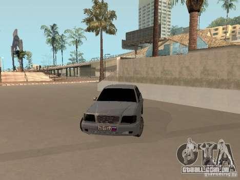 Mercedes-Benz E420 AMG para GTA San Andreas vista direita