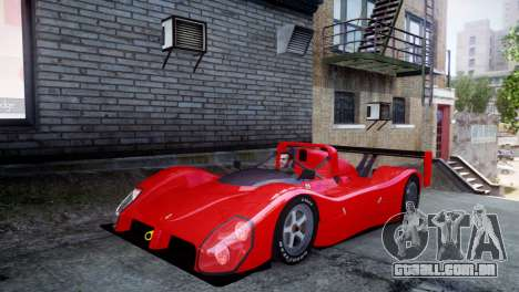 Ferrari 333 SP 1994 para GTA 4 esquerda vista
