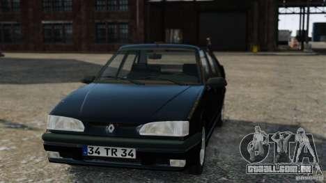 Renault 19 RL para GTA 4 vista direita