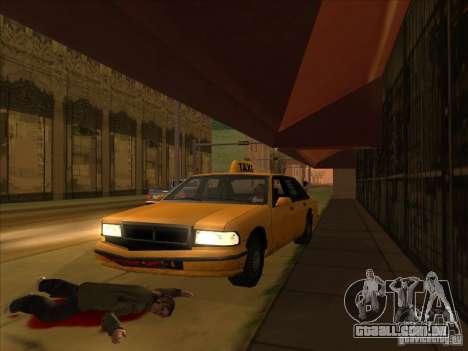 Sangue de carro v2 para GTA San Andreas por diante tela