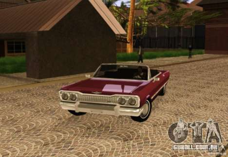 Savanna Detroit 1965 para GTA San Andreas