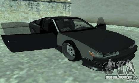 Nissan SIL80 para GTA San Andreas traseira esquerda vista
