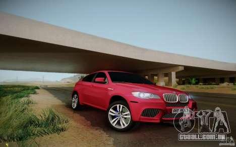 BMW X6 v1.1 para GTA San Andreas vista traseira