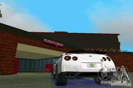 Nissan GT-R Spec V 2010 v1.0 para GTA Vice City vista direita