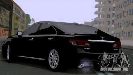 Lexus ES350 para GTA San Andreas