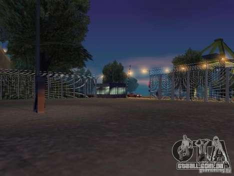 Ônibus Parque versão v 1.2 para GTA San Andreas nono tela