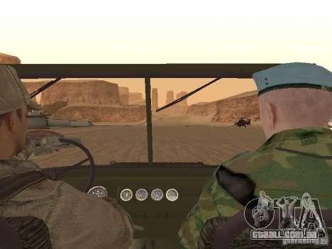 Um soldado soviético pele para GTA San Andreas sétima tela