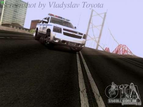 Chevrolet Avalanche 2007 para GTA San Andreas vista direita
