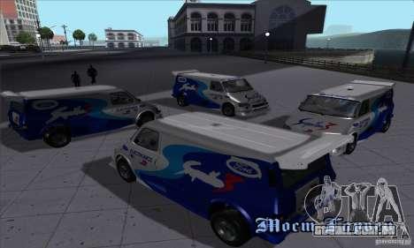 Ford Transit Supervan 3 2004 para GTA San Andreas vista traseira