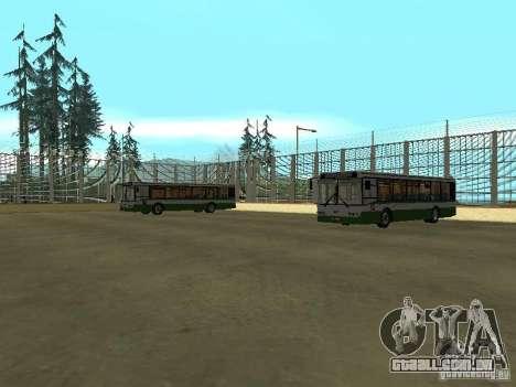 4-th ônibus v 1.0 para GTA San Andreas terceira tela