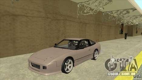 Nissan 240sx S13 JDM para GTA San Andreas