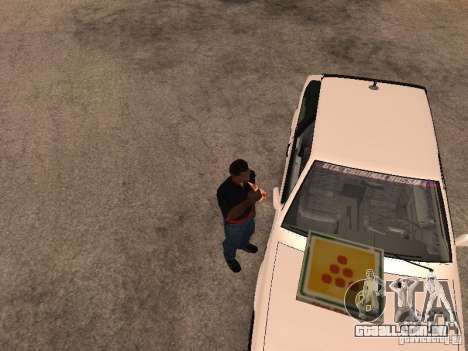 CJ com fome, v. 3 final para GTA San Andreas terceira tela