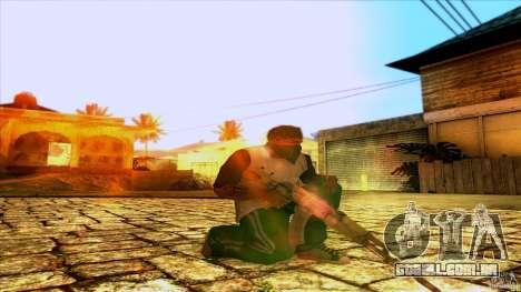 AK-47 from Far Cry 3 para GTA San Andreas segunda tela